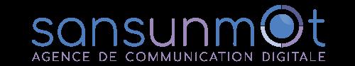 logo sansunmot agence de communication