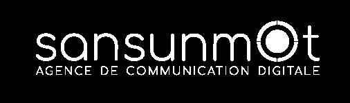 logo blanc agence de communication